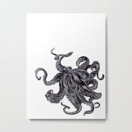 Sea Monsta Metal Print