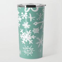 Snowflake Pond Travel Mug