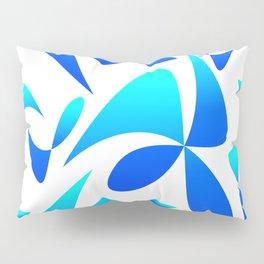 Pattern 161 blue turquoise Pillow Sham
