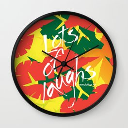 Tropical Spring Wall Clock