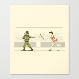 Race of War Canvas Print