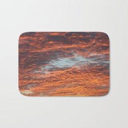 Sky Fire Bath Mat