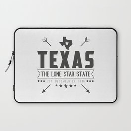 Texas State Badge Laptop Sleeve