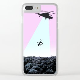 Hop in Stranger Clear iPhone Case