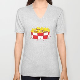 Poutine | queenie's cards Unisex V-Neck
