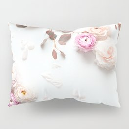 SPRING FLOWERS IN BLUSH 1 Pillow Sham