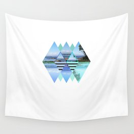 Sweden In A Different Perspective Wall Tapestry