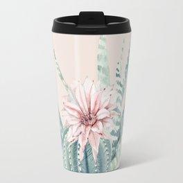 Aloe Cactus Rose Pink Travel Mug