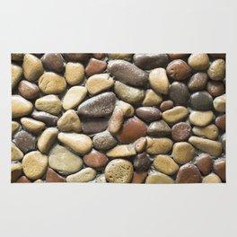 Wall pebble pattern Rug