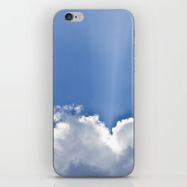 Clouds over Seaside iPhone Skin