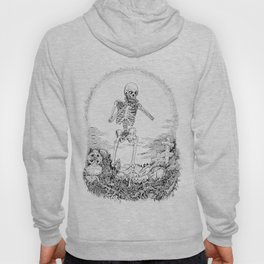 Death and Harmonica Hoody