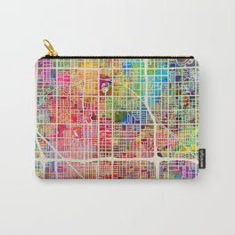 Phoenix Arizona City Map Carry-All Pouch