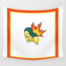 Cyndaquil #155 Wall Tapestry