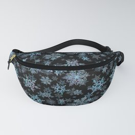 """""""Embroidered"""" Snowflakes Fanny Pack"""