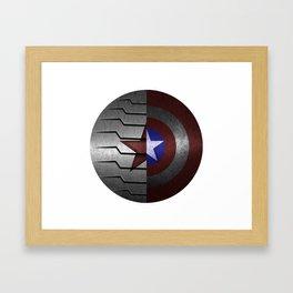 Stucky Shield Framed Art Print