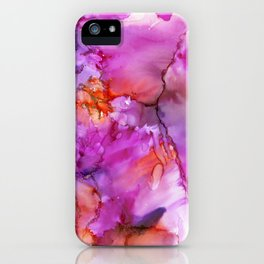 Pink Fusion iPhone Case