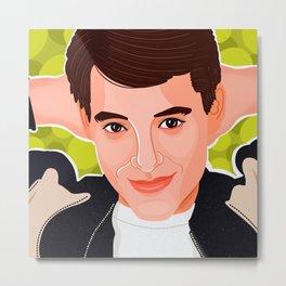 Ferris Bueller Metal Print