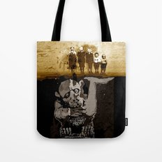 The GARGOYLE and the LOST GENERATION - spirit version Tote Bag