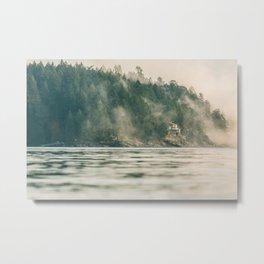 A foggy day in halfmoon bay Metal Print