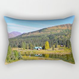 Lake Retreat - Alaska Rectangular Pillow