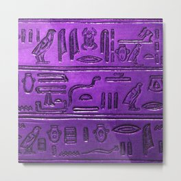 Hieroglyphs 2014-1029 Metal Print