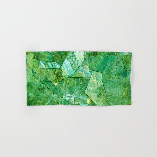 Labradorite Green Hand & Bath Towel