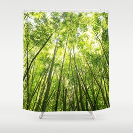 Maui Bamboo Forest Shower Curtain