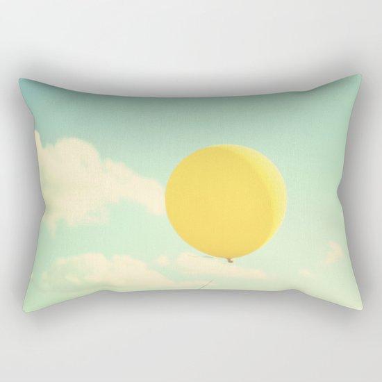 yellow balloon Rectangular Pillow