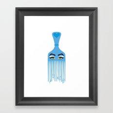 brush design Framed Art Print