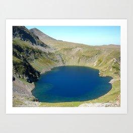 seven rila lakes Art Print