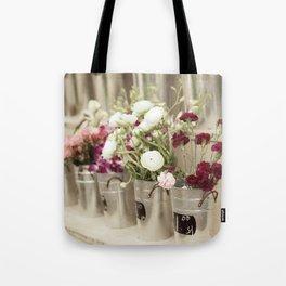 Flower Market Tote Bag