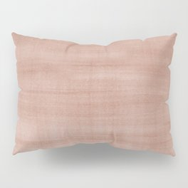 Sherwin Williams Canyon Clay Dry Brush Strokes - Texture Pillow Sham