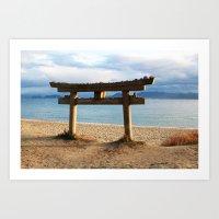Naoshima Torii Art Print