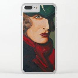 Tamara De Lempika Portrait Clear iPhone Case