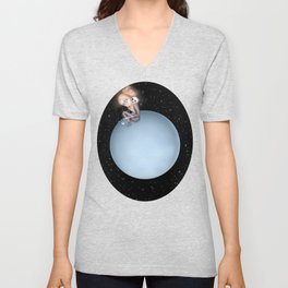 Lost in a Space / Uranusia Unisex V-Neck