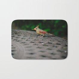 Female Cardinal // Ohio Bath Mat