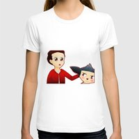 sterek T-shirts featuring Sterek Chibi by LK17
