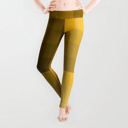 Monochromatic yellow Leggings