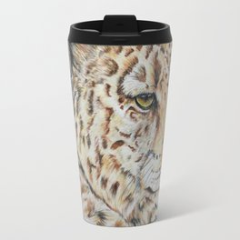 Leopard Eyes Travel Mug