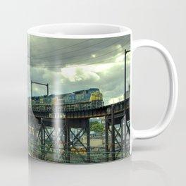 Philadelphia Skyline Freight Coffee Mug