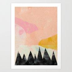 My own sun Art Print