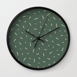 Los espacios y el tiempo Wall Clock