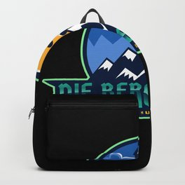 The mountains are calling - I must go Backpack