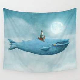 Whale Rider  Wall Tapestry