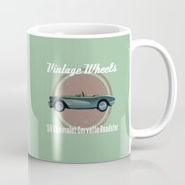 Vintage Wheels - '58 Chevrolet Coffee Mug
