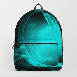 Through the glowing glass portal Backpack