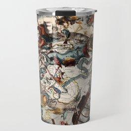Keller's Harmonia Macrocosmica - Scenography of the Southern Celestial Hemisphere 1661 Travel Mug