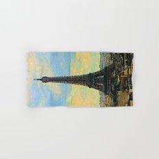 Watercolor Dream of Paris Hand & Bath Towel
