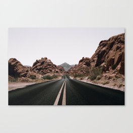 Road Trip / Valley of Fire Canvas Print