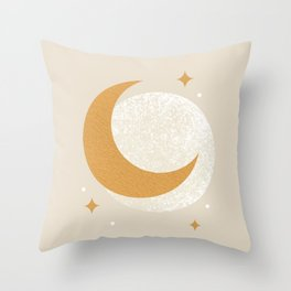 Moon Sparkle - Celestial Throw Pillow
